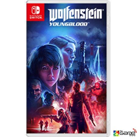 PREORDER NS Wolfenstein Youngblood 德軍總部:血氣方剛